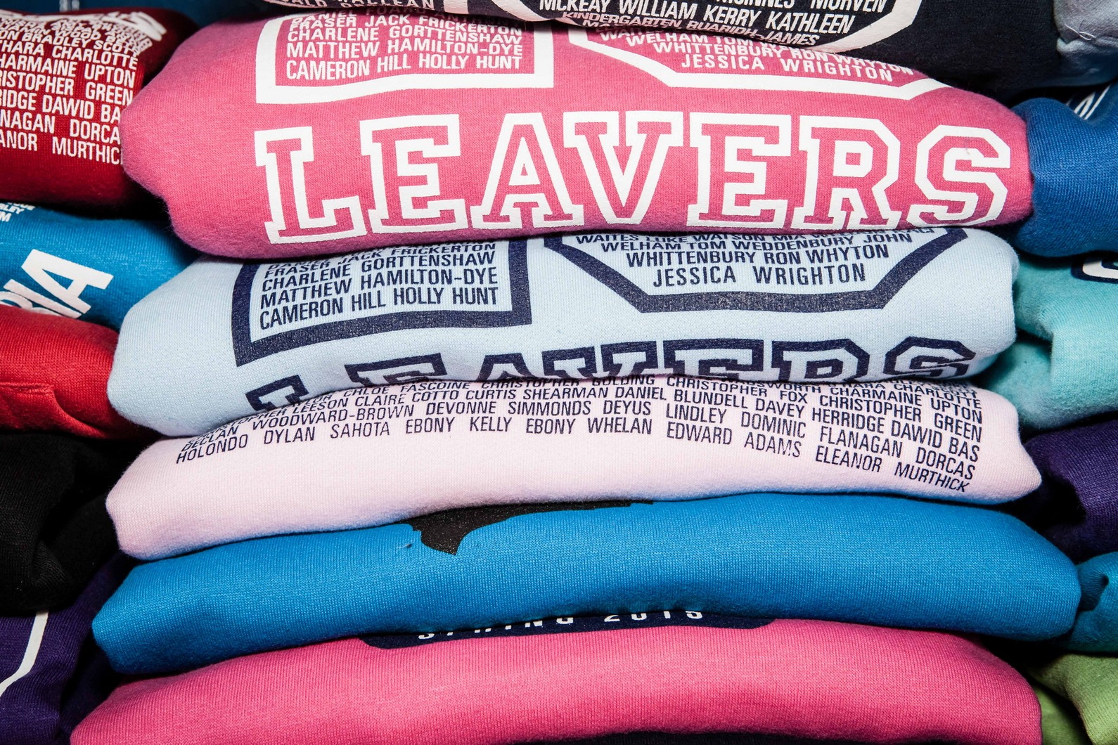 Custom Leavers Hoodies